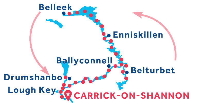 Carrick-on-Shannon RETURN via Belleek