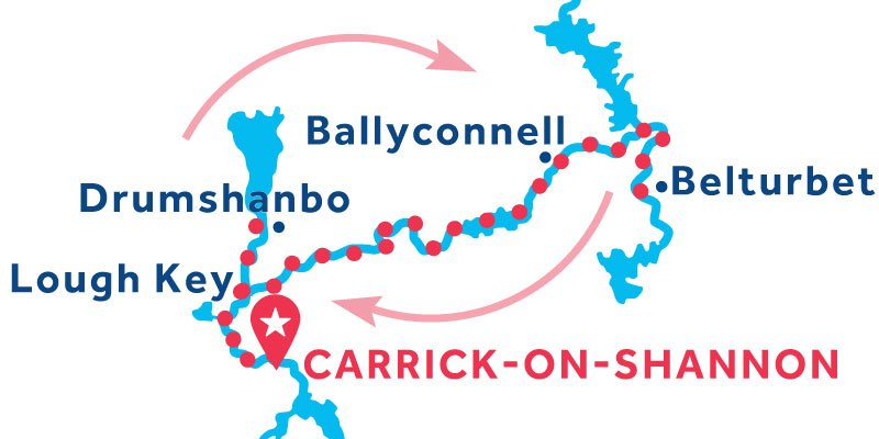 Carrick-on-Shannon RETURN via Belturbet