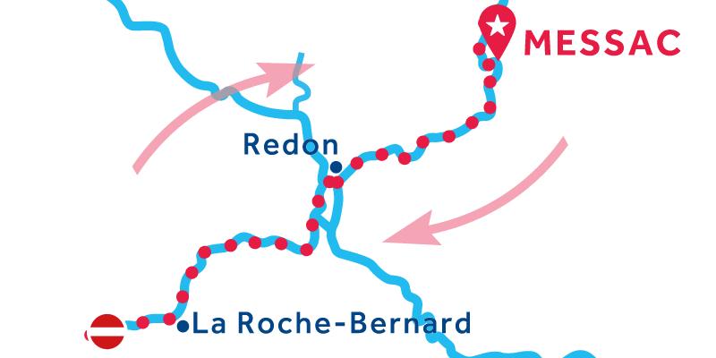 Messac RETURN via La Roche-Bernard