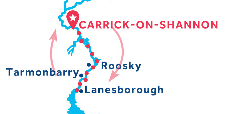 Carrick-on-Shannon RETURN via Lanesborough