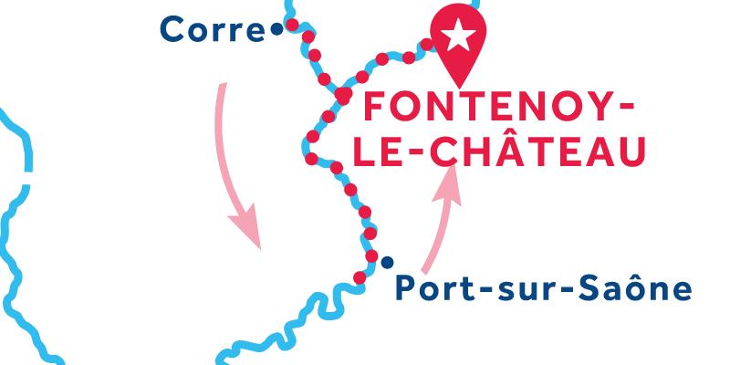 Fontenoy-le-Château RETURN via Ormoy