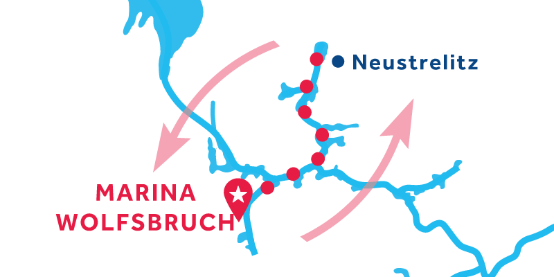 Marina Wolfsbruch RETURN via Neustrelitz