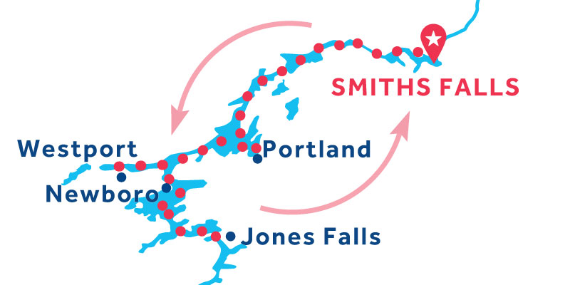 Smiths Falls RETURN via Jones Falls
