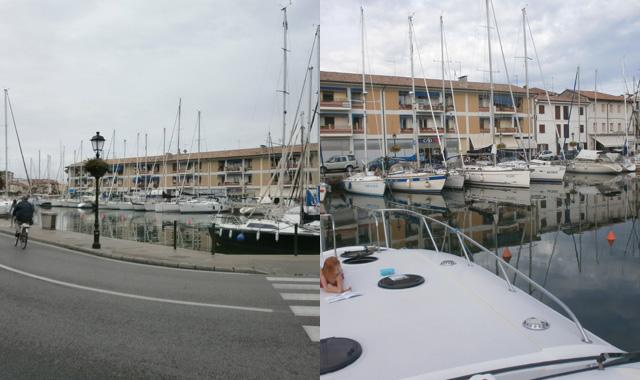 Hafen Liegeplatz