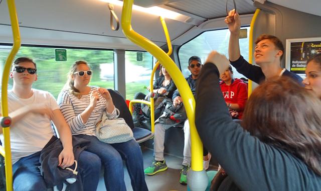Busfahrt nach Utrecht