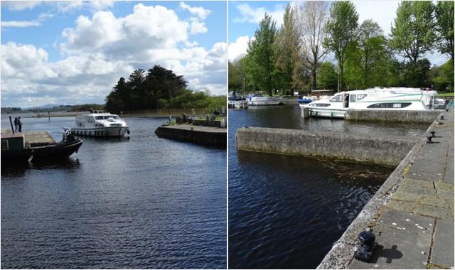 Le Boat Irland Portumna Portumna Castle Habor