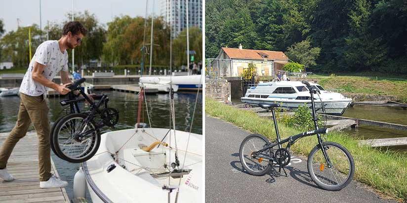 Fahrradfahren in Toulouse