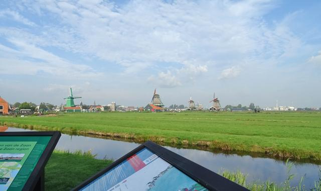 Zaanse Schans in Holland