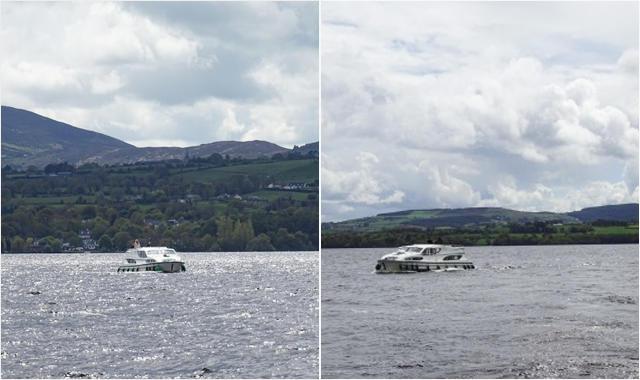 Le Boat Irland Portumna Lough Derg Rueckfahrt Boote