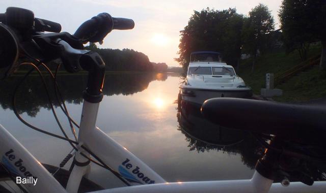 Sonnenuntergang Bailly