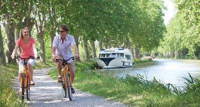 Canal du Midi mit dem Fahrrad