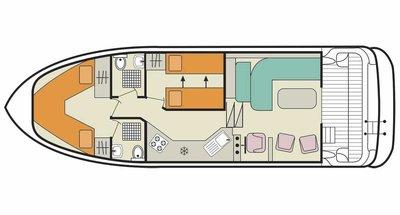 Deckplan der Caprice