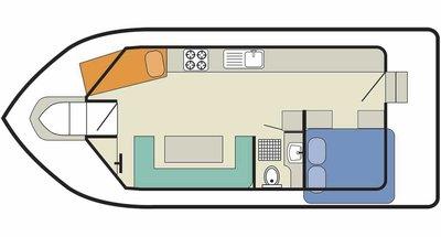 Deckplan der Cirrus B