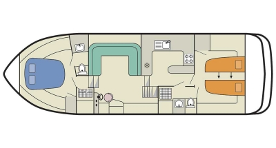 Deckplan der Royal Mystique B