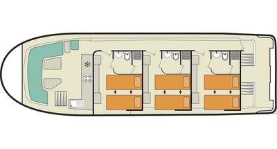 Deckplan der Vision 3 SL