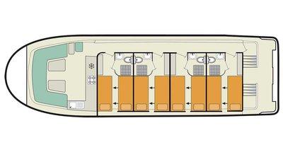 Deckplan der Vision 4