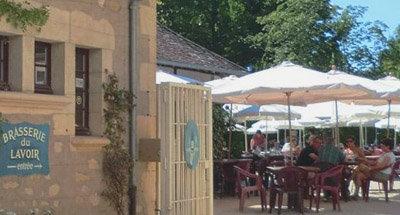 Französische Brasserie im Burgund