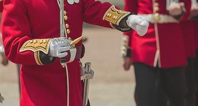 Soldat der britischen Garde