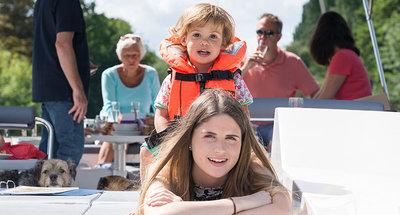 Familienspaß auf dem Rideau Canal