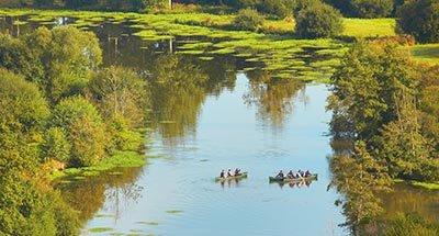 Kanu fahren in der Bretagne
