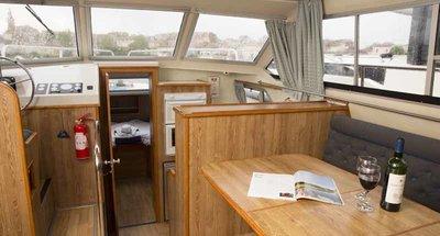 Salon des Hausbootes Crusader von Le Boat