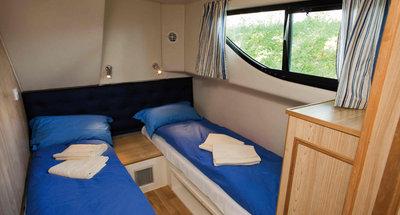 Kabine des Hausbootes Magnifique von Le Boat