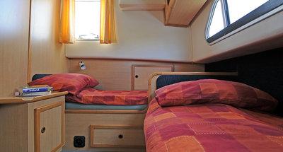 Kabine des Hausbootes Shannon Star von Le Boat