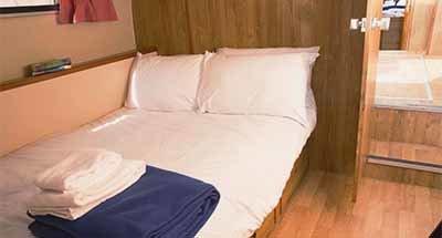 Kabinen & Badezimmer der Tamaris