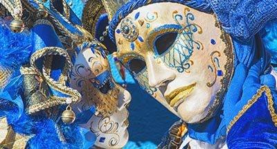 Venezianische Karnevalsmasken