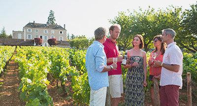 Weingut im Burgund