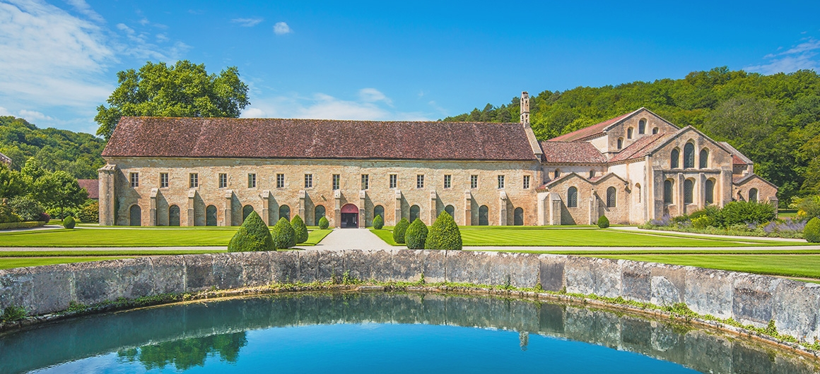 Kloster Fontenay in Montbard