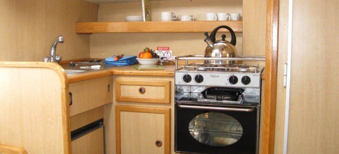 Capri WHS - Küche