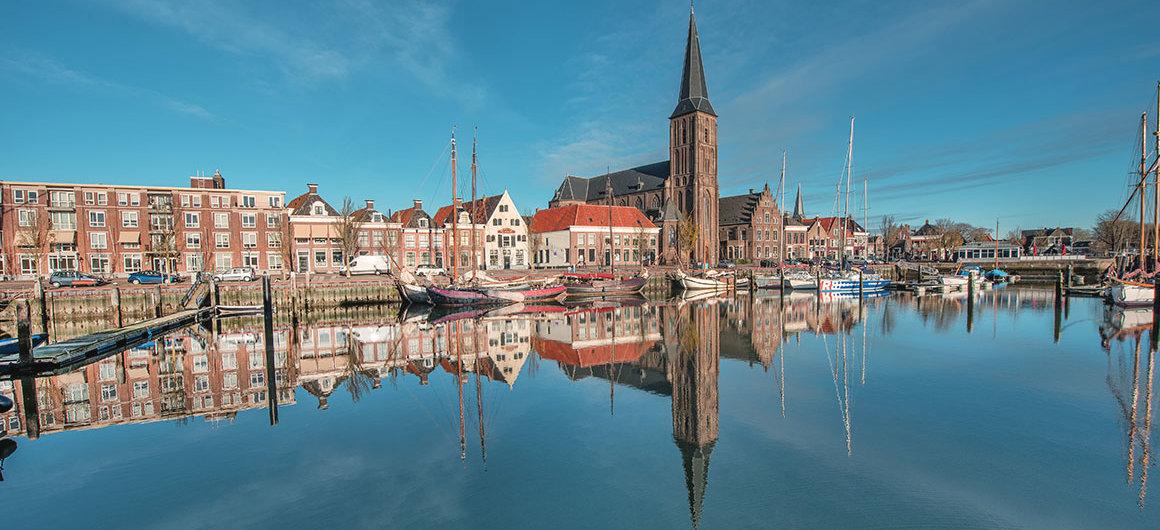 Harlingen Hafen, Niederlande
