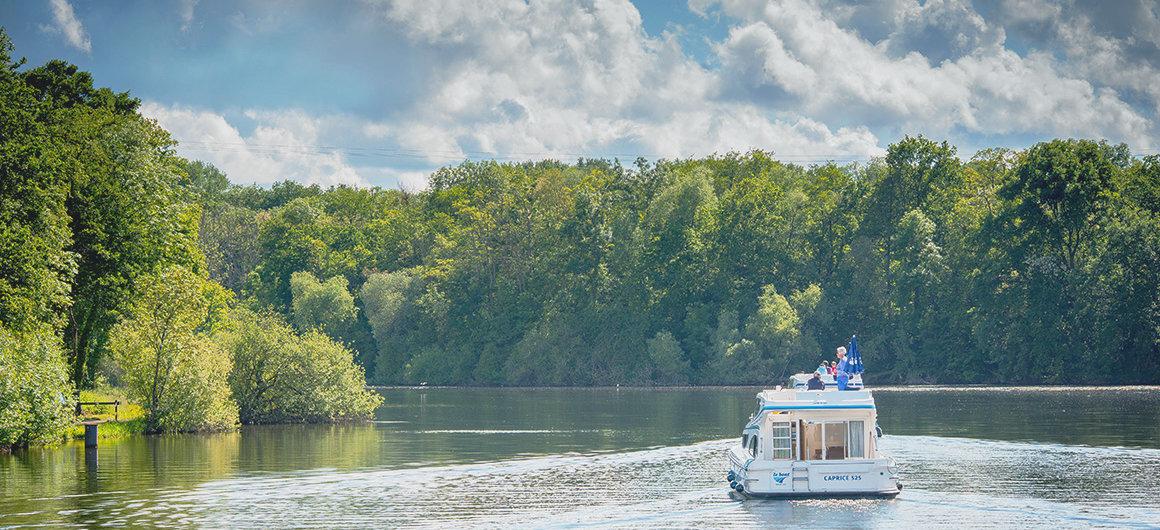 Bootfahren im Burgund
