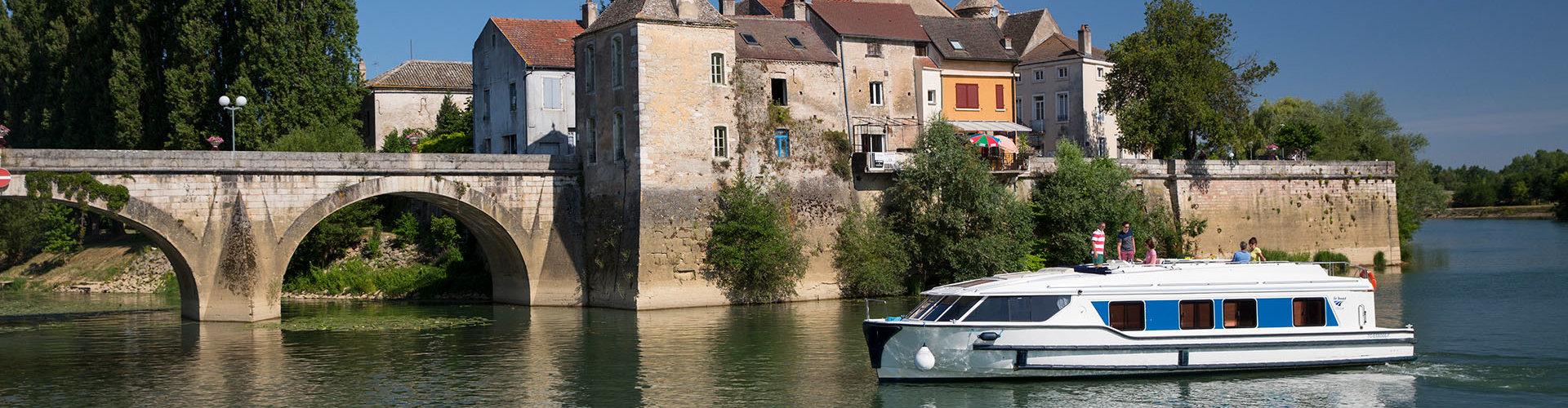 Hausboot Vision im Burgund
