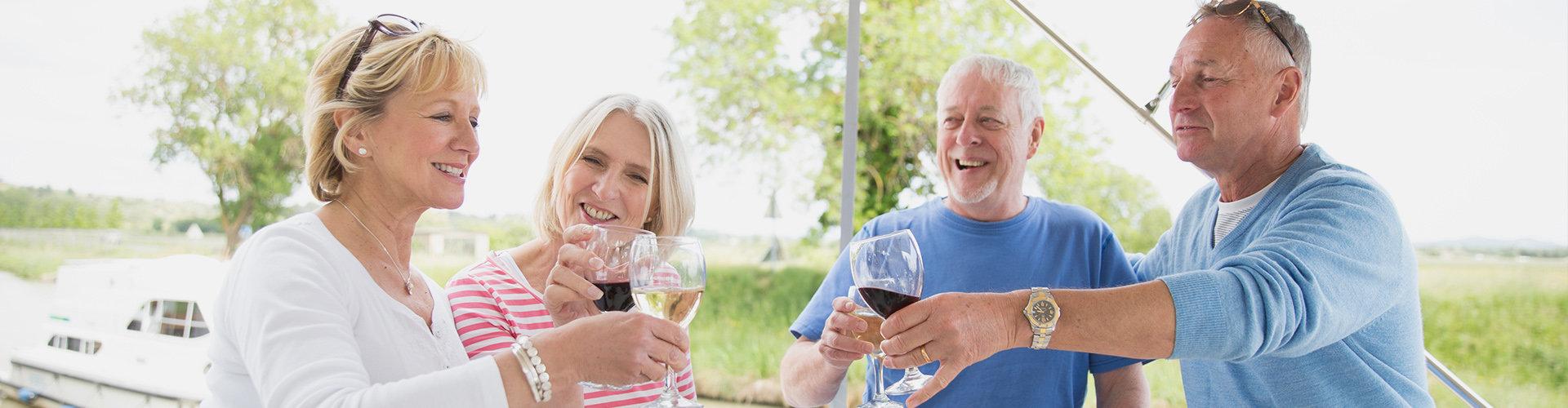 Wein am Canal du Midi