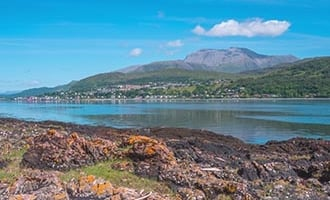 Fort William und Ben Nevis